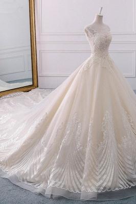 Champagne Brautkleider Prinzessin | Bohemian Hochzeitskleid_2