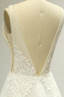 Brautkleider A Linie Spitze   Hochzeitskleid Bestellen_5