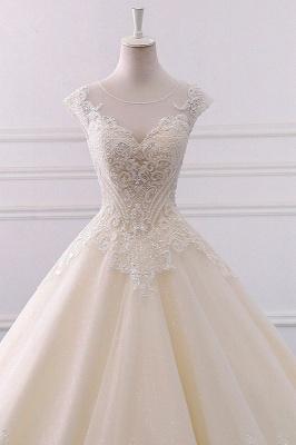 Champagne Brautkleider Prinzessin | Bohemian Hochzeitskleid_3