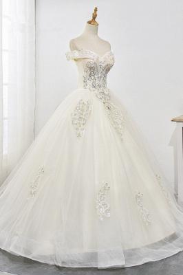Designer Hochzeitskleider A Linie | Brautkleid mit spitze_4