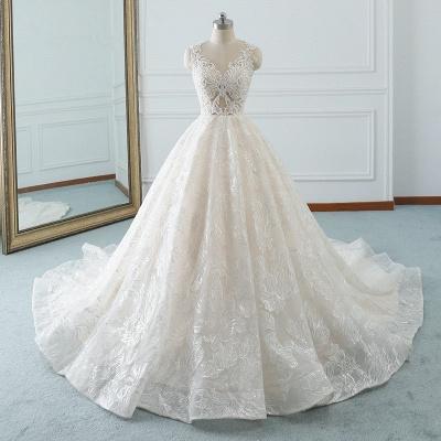 Modern Brautkleider A Linie | Hochzeitskleider Spitze_7
