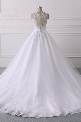 Designer Brautkleider A Linie Spitze | Hochzeitskleider V Ausschnitt_2