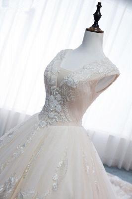 Standesamt Hochzeitskleid | Brautkleider Prinzessin Luxus_5