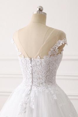 Brautkleid A linie | Spitze Hochzeitskleider Online Kaufen_6