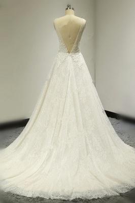 Brautkleider A Linie Spitze   Hochzeitskleid Bestellen_2