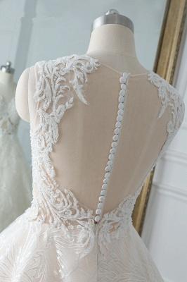 Modern Brautkleider A Linie | Hochzeitskleider Spitze_6