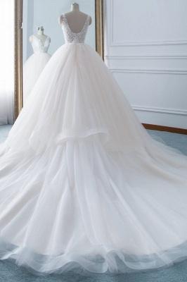 Schöne Brautkleider v Ausschnitt | Hochzeitskleid Umstandsmode_2