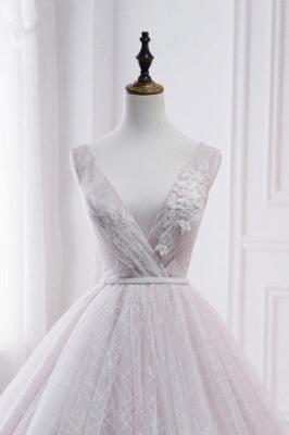 Hochzeitskleid Umstandsmode | Brautkleid A Linie Spitze_5