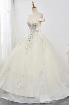 Designer Hochzeitskleider A Linie | Brautkleid mit spitze_3
