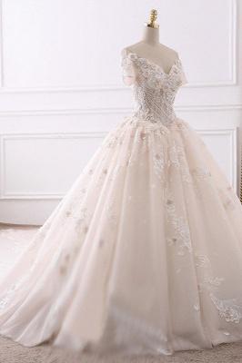 Schöne Brautkleider Mit Ärmel | Hochzeitskleider Prinzessin_3