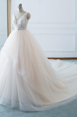 Schöne Brautkleider v Ausschnitt | Hochzeitskleid Umstandsmode_3