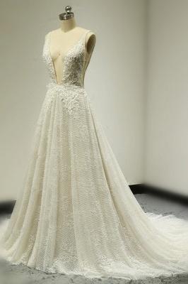 Brautkleider A Linie Spitze   Hochzeitskleid Bestellen_3