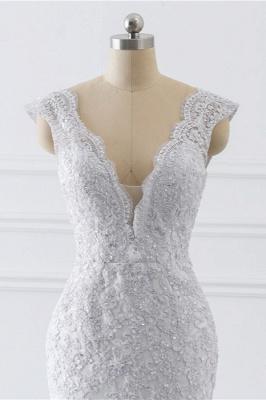 Schlichte hochzeitskleider Meerjungfrau   Brautkleider Spitze_5