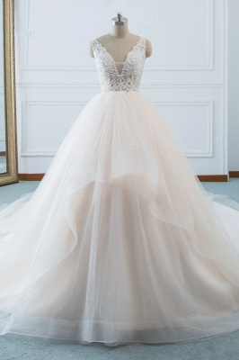 Schöne Brautkleider v Ausschnitt | Hochzeitskleid Umstandsmode