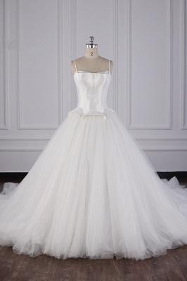 Hochzeitskleider Prinzessin Luxus   Tüll Brautkleid Umstandsmode_2