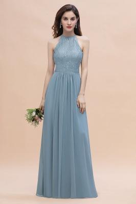 Brautjungfernkleider Lang Blau | Hochzeitspartykleider Günstig Kaufen_5