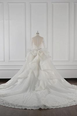 Brautkleider Lang Ärmel | Hochzeitskleid Spitze_3