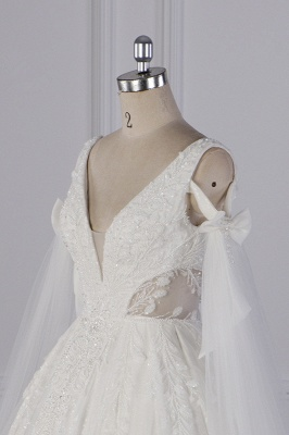 Prinzessin Brautkleider Lang Ärmel | Hochzeitskleider Spitze_5