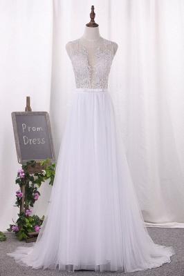 Hochzeitskleider Große Größen | Brautkleid A Linie_1
