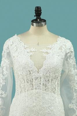 Hochzeitskleid Umstandsmode | Brautkleid Meerjungfrau Spitze_2