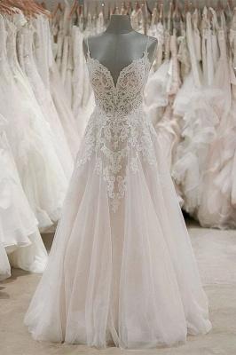 Schlichte Brautkleider A Linie | Hochzeitskleider Online Bestellen_1