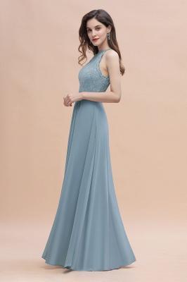 Brautjungfernkleider Lang Blau | Hochzeitspartykleider Günstig Kaufen_8