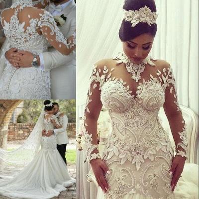 Designer Hochzeitskleid Umstandsmode | Brautkleid Meerjungfrau Spitze_4