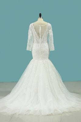 Hochzeitskleid Umstandsmode | Brautkleid Meerjungfrau Spitze_3