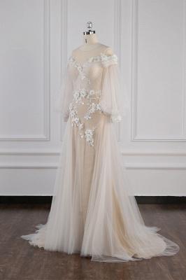 Hochzeitskleid Langarm Spitze | Brautkleider Online Kaufen_4