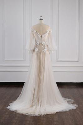 Hochzeitskleid Langarm Spitze | Brautkleider Online Kaufen_6