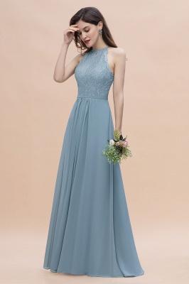 Brautjungfernkleider Lang Blau | Hochzeitspartykleider Günstig Kaufen_6