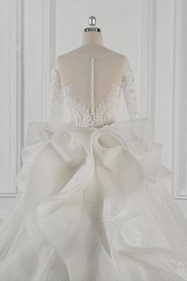 Brautkleider Lang Ärmel | Hochzeitskleid Spitze_7