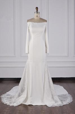 Bohemian Hochzeitskleid Langarm | Brautkleid Meerjungfrau_2