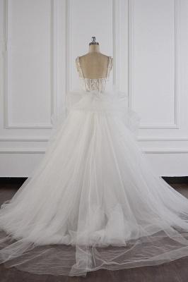 Tüll Brautkleider Lange Ärmel | Standesamt Hochzeitskleid_6