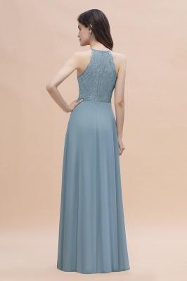 Brautjungfernkleider Lang Blau | Hochzeitspartykleider Günstig Kaufen_3