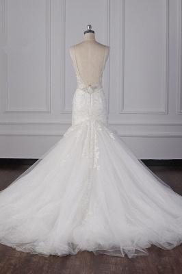 Wunderschöne Brautkleid Meerjungfrau   Hochzeitskleid Spitze Online_6