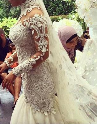 Designer Hochzeitskleid Umstandsmode | Brautkleid Meerjungfrau Spitze_3