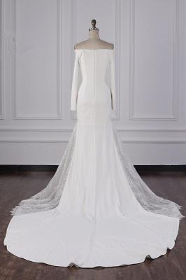 Bohemian Hochzeitskleid Langarm | Brautkleid Meerjungfrau_6