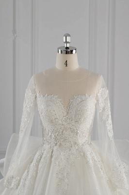 Brautkleider Lang Ärmel | Hochzeitskleid Spitze_5