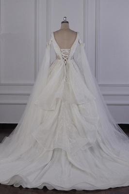Prinzessin Brautkleider Lang Ärmel | Hochzeitskleider Spitze_6