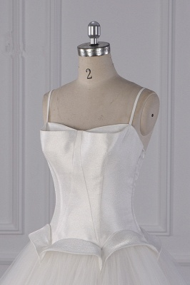 Hochzeitskleider Prinzessin Luxus   Tüll Brautkleid Umstandsmode_5
