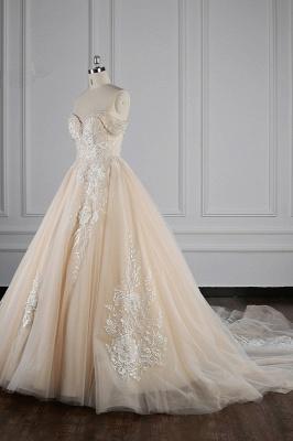 Elegante Brautkleider Prinzessin | Hochzeitskleid Lange Ärmel_4