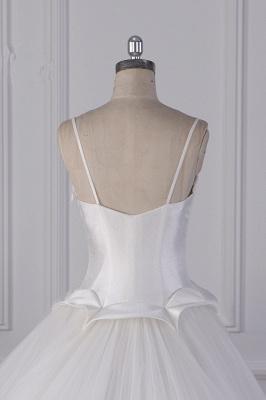 Hochzeitskleider Prinzessin Luxus   Tüll Brautkleid Umstandsmode_6