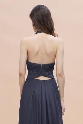 Brautjungfernkleider Günstig Kaufen   Chiffon Kleider Grau_7