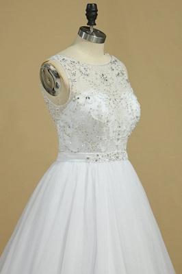 Ausgefallene Hochzeitskleider Spitze | Brautkleid Tüll_4