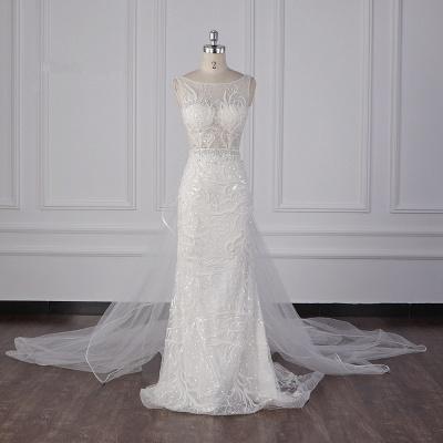 Neue Brautkleider Meerjungfrau Spitze | Hochzeitskleidung Damen_1