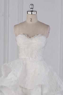 Hochzeitskleid A Linie | Brautkleid Vorne Kruz Lange Hinter_3