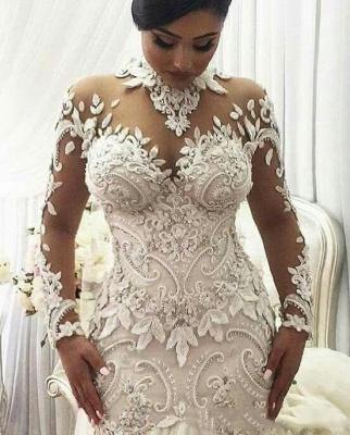 Designer Hochzeitskleid Umstandsmode | Brautkleid Meerjungfrau Spitze_2