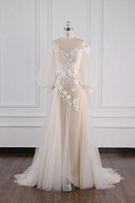 Hochzeitskleid Langarm Spitze | Brautkleider Online Kaufen_2
