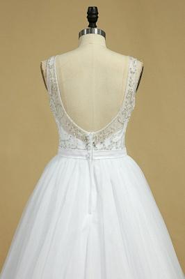 Ausgefallene Hochzeitskleider Spitze | Brautkleid Tüll_5